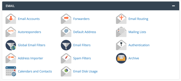 Add A New Email Account With cPanel